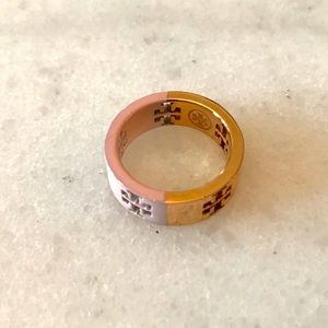 ⚡️final price⚡️Tory Burch Logo Cut Out Ring